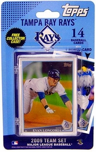 Topps MLB Baseball Cards 2009 Tampa Bay Rays 14 Card Team Set BLOWOUT SALE!