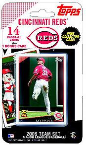 Topps MLB Baseball Cards 2009 Cincinnati Reds 14 Card Team Set [Includes Mr. Redlegs Card]