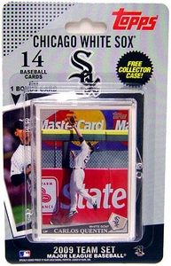 Topps MLB Baseball Cards 2009 Chicago White Sox 14 Card Team Set [Includes Barack Obama Card]