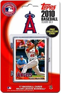 Topps MLB Baseball Cards 2010 Los Angeles Angels 17 Card Team Set [Includes Exclusive Card!]