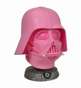 Gentle Giant Ltd. 2009 SDCC San Diego Comic-Con Exclusive Darth Vader Breast Cancer Research Pink Helmet Mini Bust Only 1,644 Made!