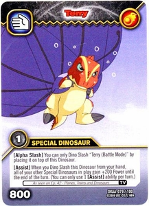 Dinosaur King TCG Alpha Dinosaurs Attack Single Card Common DKAA-079 Terry