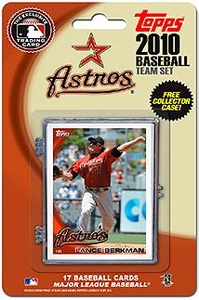 Topps MLB Baseball Cards 2010 Houston Astros 17 Card Team Set [Includes Exclusive Card!]