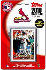 Topps MLB Baseball Cards 2010 St. Louis Cardinals 17 Card Team Set [Includes Exclusive Card!]