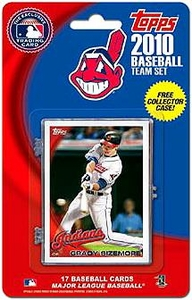 Topps MLB Baseball Cards 2010 Cleveland Indians 17 Card Team Set [Includes Exclusive Card!]