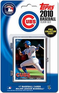 Topps MLB Baseball Cards 2010 Chicago Cubs 17 Card Team Set [Includes Exclusive Card!]