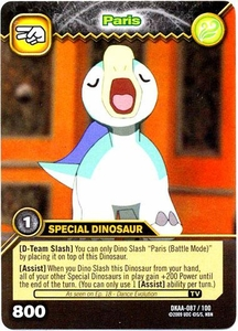 Dinosaur King TCG Alpha Dinosaurs Attack Single Card Common DKAA-087 Paris