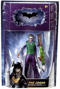 Batman Dark Knight Movie Master Deluxe Action Figure Joker with Missile Launcher
