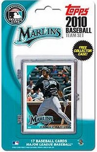 Topps MLB Baseball Cards 2010 Florida Marlins 17 Card Team Set [Includes Exclusive Card!]