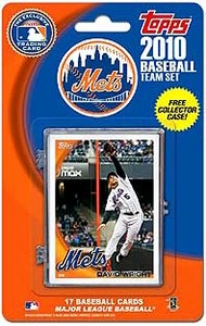 Topps MLB Baseball Cards 2010 New York Mets 17 Card Team Set [Includes Exclusive Card!]