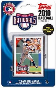 Topps MLB Baseball Cards 2010 Washington Nationals 17 Card Team Set [Includes Exclusive Card!]
