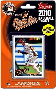 Topps MLB Baseball Cards 2010 Baltimore Orioles 17 Card Team Set [Includes Exclusive Card!]