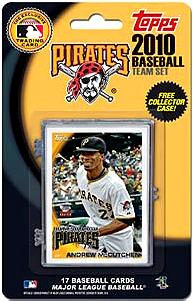Topps MLB Baseball Cards 2010 Pittsburgh Pirates 17 Card Team Set [Includes Exclusive Card!]