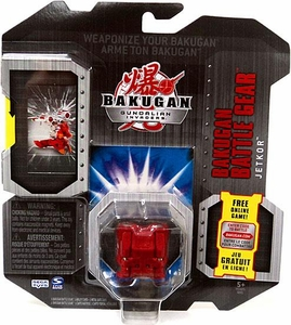 Bakugan Battle Gear Single Figure Pyrus Nova 12 [Red] Jetkor Adds 60 G!