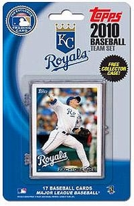 Topps MLB Baseball Cards 2010 Kansas City Royals 17 Card Team Set [Includes Exclusive Card!]