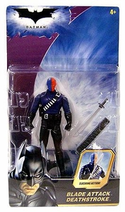 Batman Dark Knight Movie Action Figure Blade Attack Deathstroke