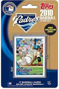 Topps MLB Baseball Cards 2010 San Diego Padres 17 Card Team Set [Includes Exclusive Card!]