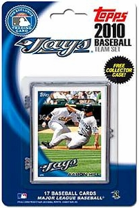 Topps MLB Baseball Cards 2010 Toronto Blue Jays 17 Card Team Set [Includes Exclusive Card!]