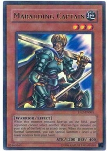 YuGiOh Hobby League Promo Card Single Parallel Rare HL2-EN005 Marauding Captain