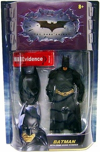 Batman Dark Knight Movie Master Deluxe Action Figure Batman with Mask ON [Crime Scene Evidence]