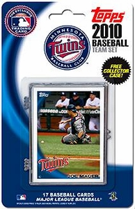 Topps MLB Baseball Cards 2010 Minnesota Twins 17 Card Team Set [Includes Exclusive Card!]