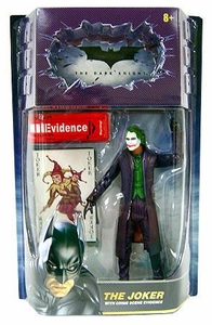 Batman Dark Knight Movie Master Deluxe Action Figure Joker [Crime Scene Evidence]
