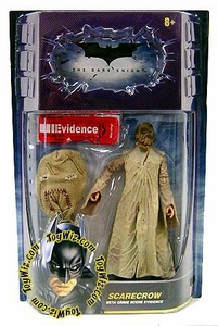 Batman Dark Knight Movie Master Deluxe Action Figure Scarecrow [Crime Scene Evidence]
