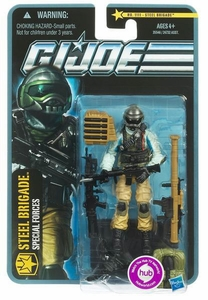 GI Joe Pursuit of Cobra 3 3/4 Inch Action Figure Steel Brigade [Special Forces]