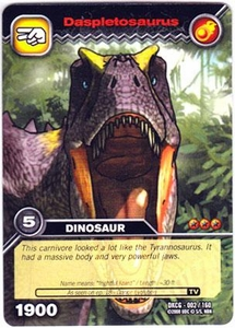 Dinosaur King TCG Single Card Common DKCG-002 Daspletosaurus