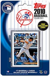 Topps MLB Baseball Cards 2010 New York Yankees 17 Card Team Set [Includes Exclusive Card!]