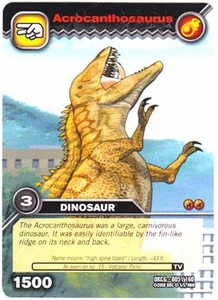 Dinosaur King TCG Single Card Common DKCG-005 Acrocanthosaurus