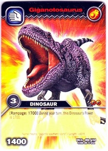Dinosaur King TCG Single Card Common DKCG-006 Giganotosaurus