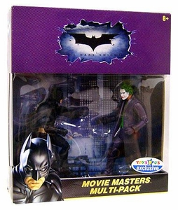 Batman Dark Knight Exclusive Movie Master Action Figure 2-Pack Batman & Joker