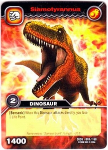 Dinosaur King TCG Single Card Common DKCG-010 Siamotyrannus