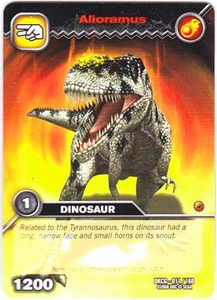 Dinosaur King TCG Single Card Common DKCG-011 Alioramus