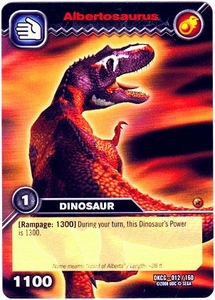 Dinosaur King TCG Single Card Common DKCG-012 Albertosaurus