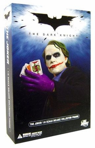 DC Direct Batman Dark Knight Movie Deluxe 1/6 Scale Collectors Action Figure Joker [Heath Ledger]
