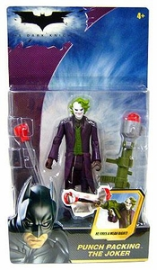 Batman Dark Knight Movie Action Figure Punch Packing The Joker