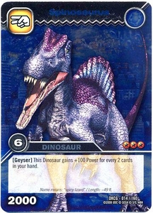 Dinosaur King TCG Single Card Silver DKCG-014 Spinosaurus