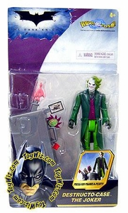 Batman Dark Knight Movie Action Figure Destructo Case Joker