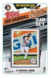 Topps MLB Baseball Cards 2011 Baltimore Orioles 17 Card Team Set [Includes Exclusive Card!]