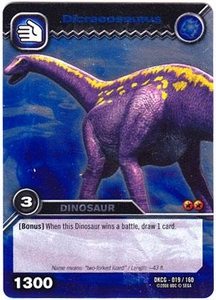 Dinosaur King TCG Single Card Silver DKCG-019 Dicraeosaurus