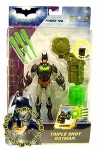 Batman Dark Knight Movie Power Tek Triple Shot Batman