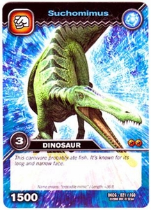 Dinosaur King TCG Single Card Common DKCG-021 Suchomimus