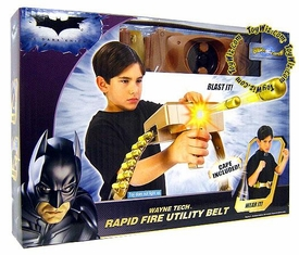 Batman Dark Knight Movie Roleplay Toy Rapid Fire Utility Belt with Cape