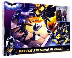 Batman Dark Knight Movie Battle Stations Playset