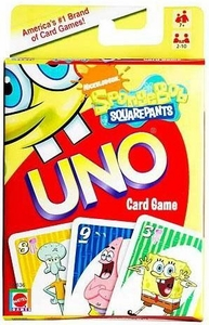 Spongebob Squarepants UNO Card Game