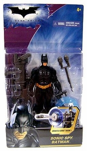 Batman Dark Knight Movie Action Figure Sonic Spy Batman [2008 Packaging]