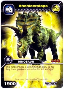 Dinosaur King TCG Single Card Common DKCG-029 Anchiceratops