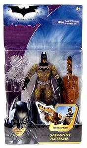 Batman Dark Knight Movie Action Figure Saw Shot Batman